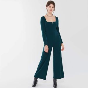 NWT Urban Outfitters Vicki Wire V-Neck Jumpsuit